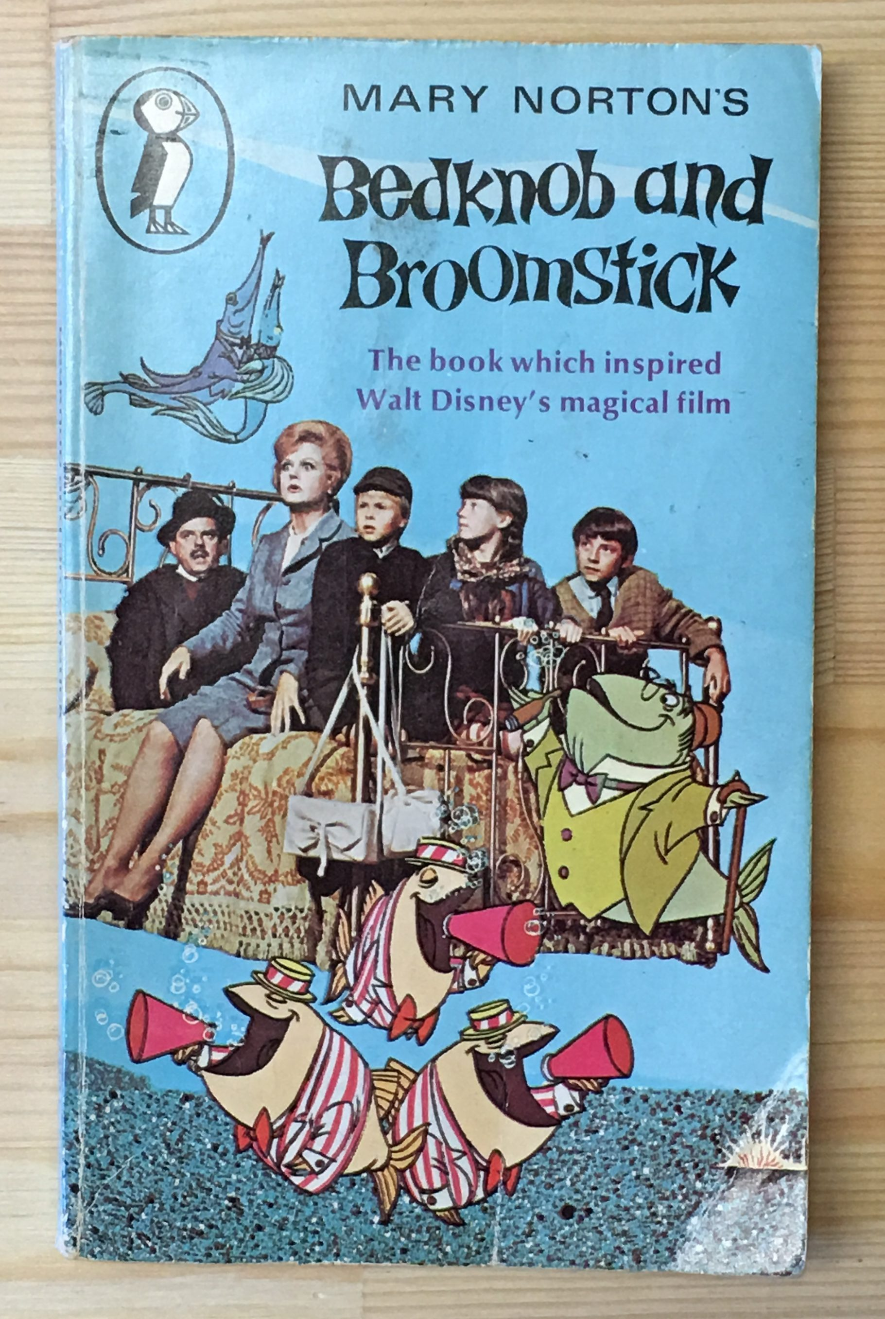 Bedknob and Broomstick, Mary Norton – Printed Pages and Coffee